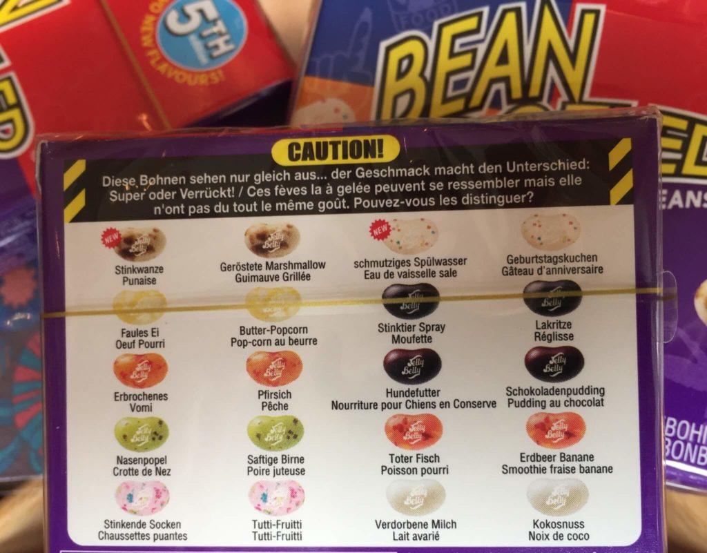 bean boozled goût de la 5eme édition