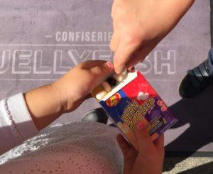 jelly belly enfant et boite