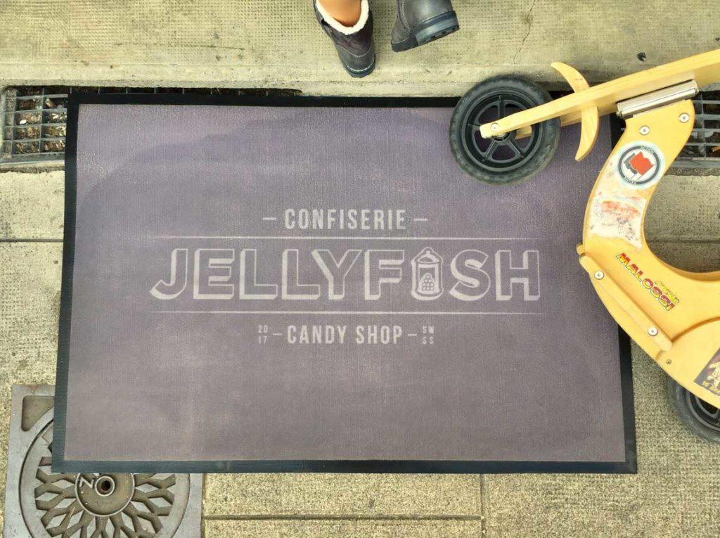 Tapis d'entrée Jellyfish