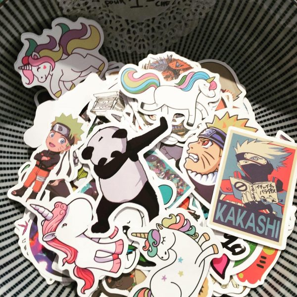Sticker personnages manga